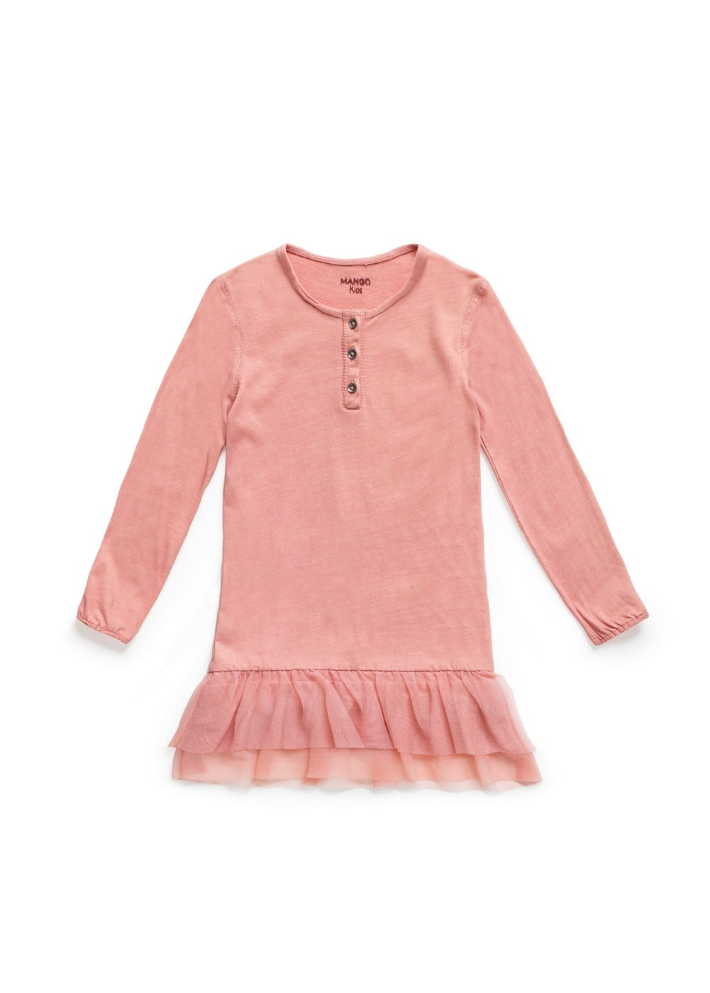 Tutu cotton dress | MANGO KIDS
