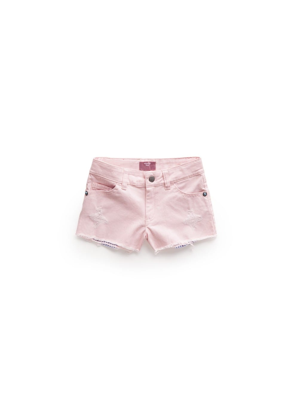 Contrasted pockets shorts | MANGO KIDS