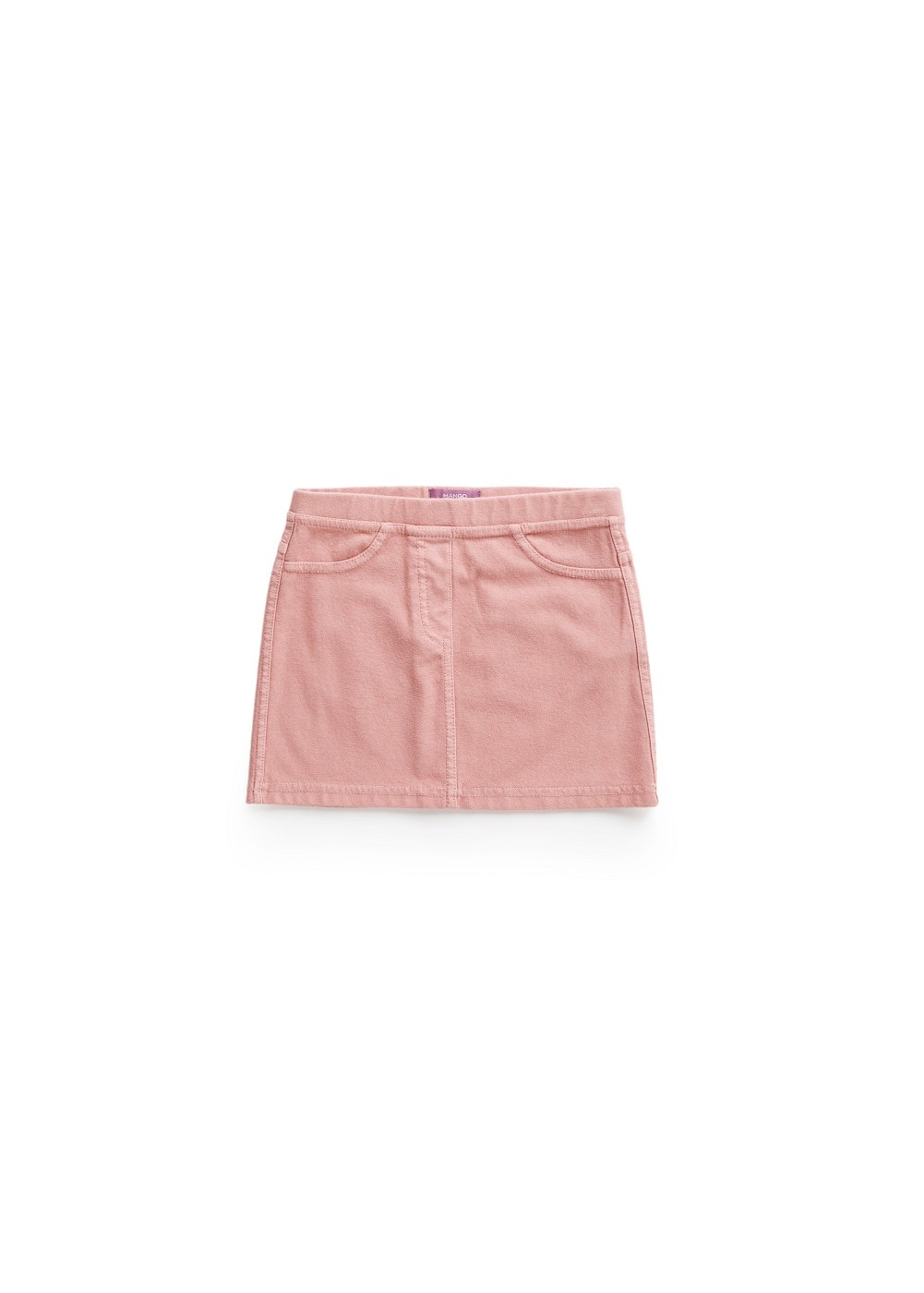 Elastic fabric skirt | MANGO KIDS