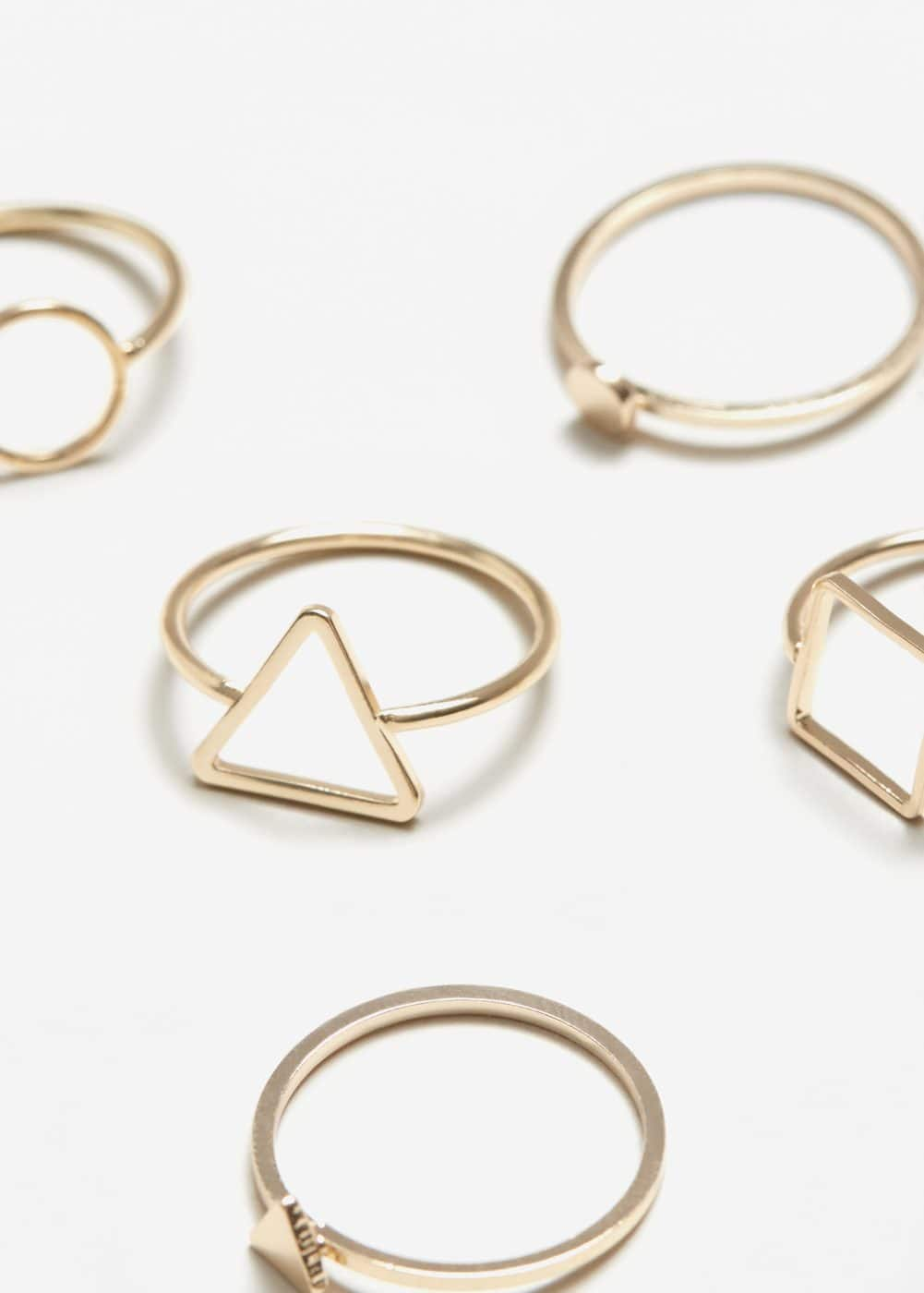 Geometric ring set | MANGO