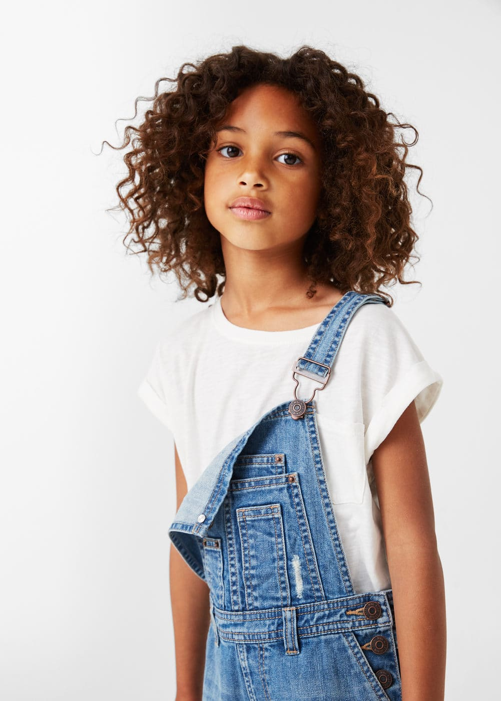 Medium denim dungarees | MANGO KIDS