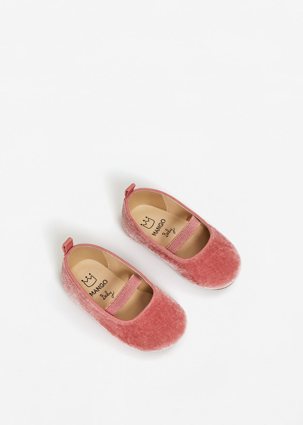 Velvet shoes | MANGO KIDS