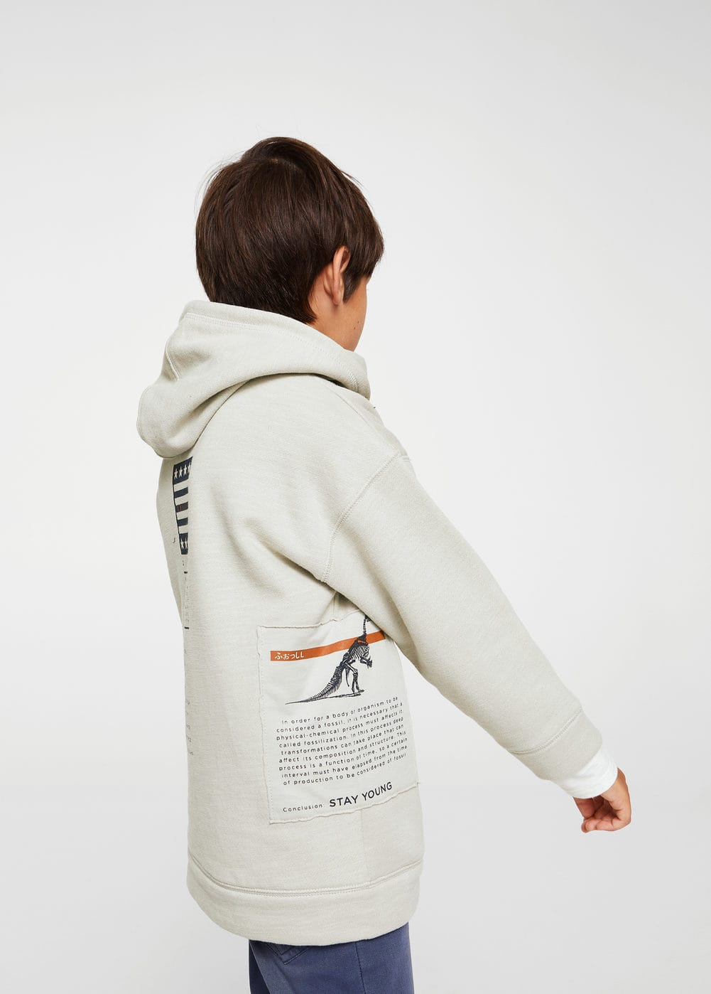 Patch sweatshirt | MANGO