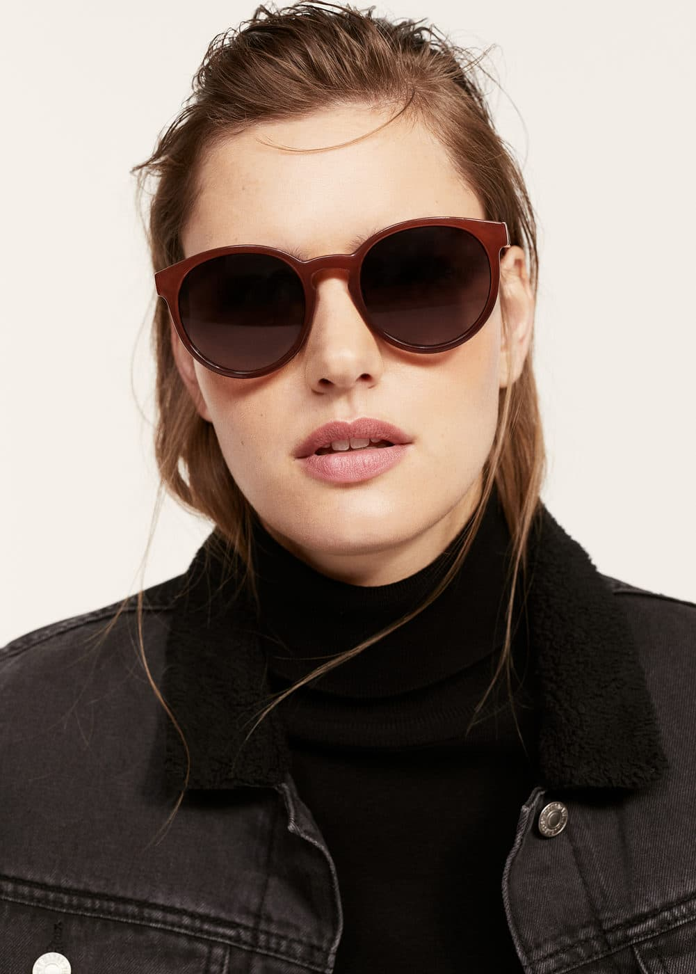 Acetate frame sunglasses | VIOLETA BY MANGO