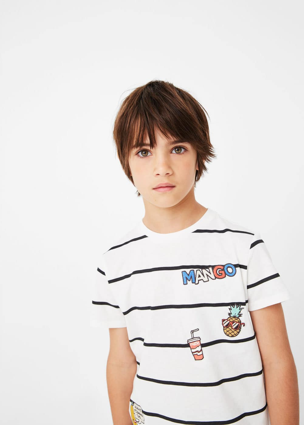 Message mango t-shirt | MANGO