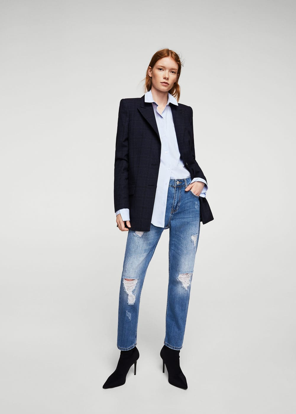 Jeans relaxed girlfriend | MANGO