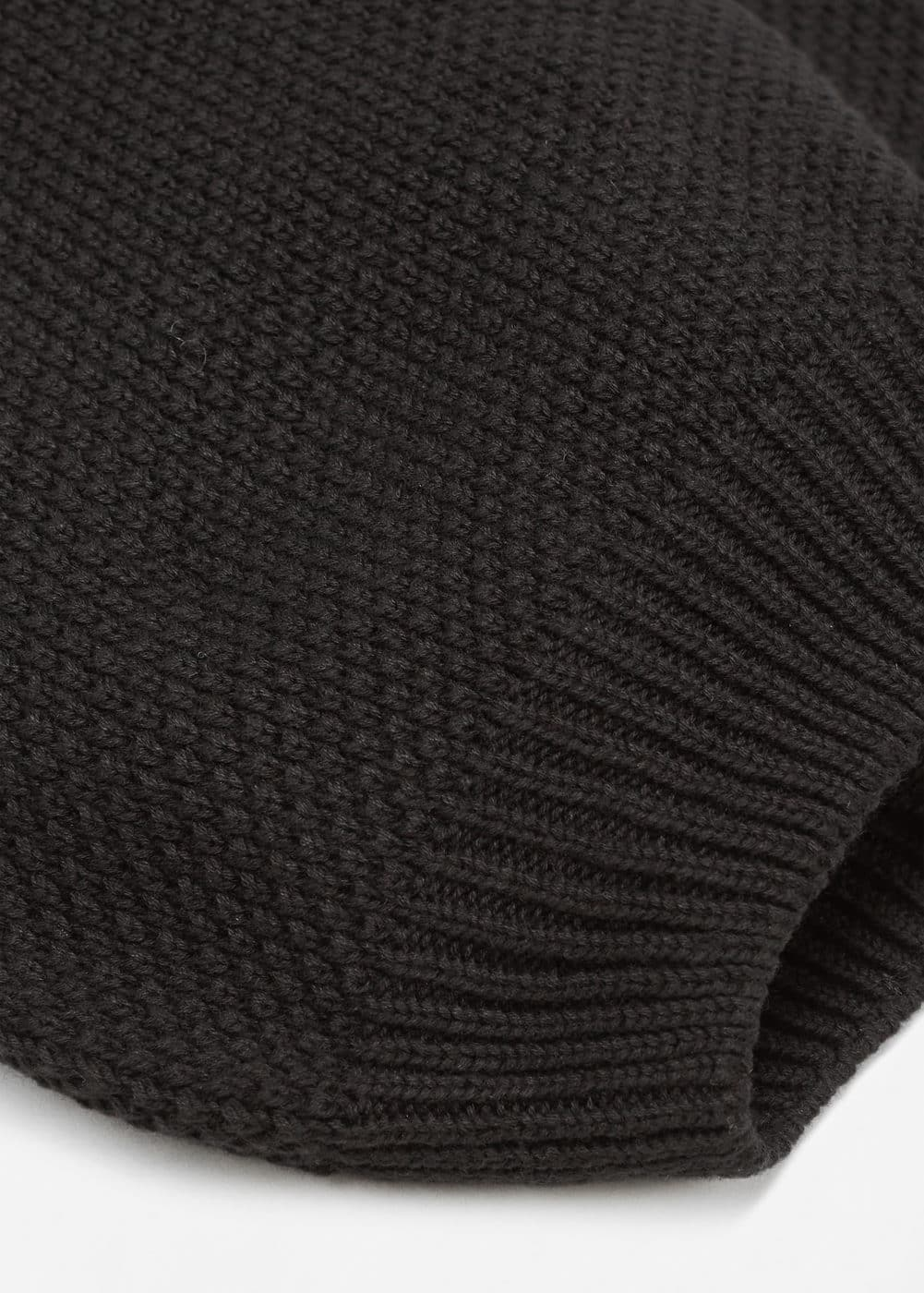 Knit cotton beanie | MANGO