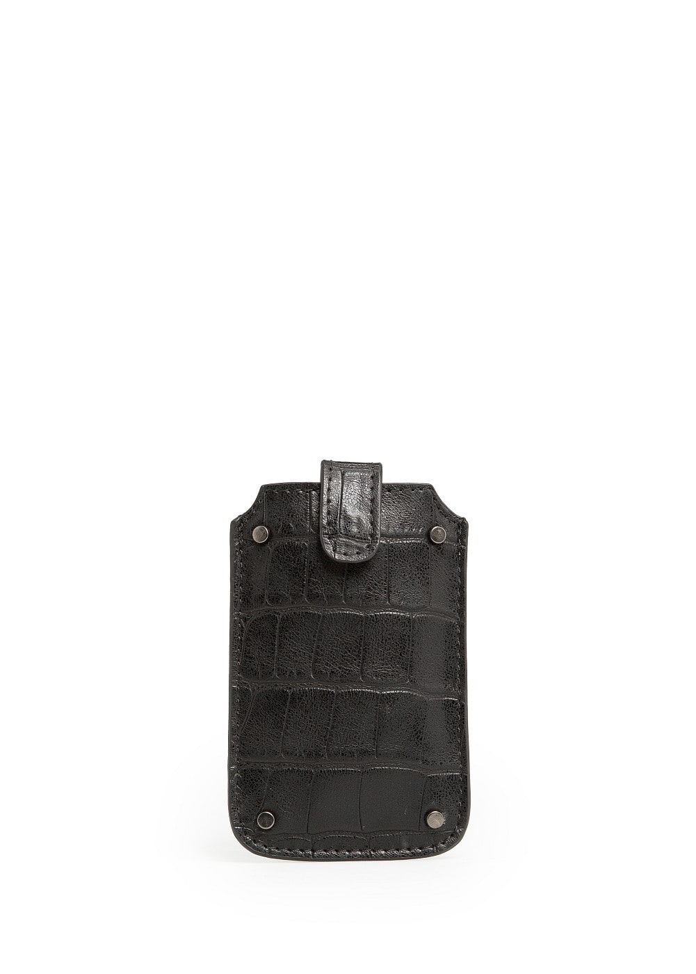 Croc effect iphone case | MANGO