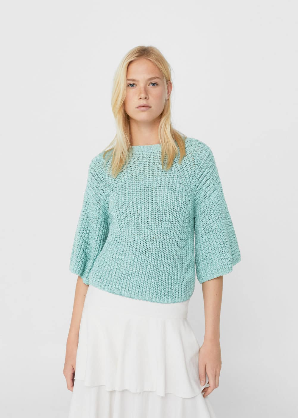 Flared sleeves sweater | MNG