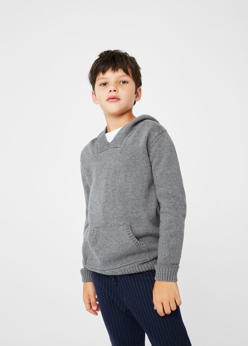 Kangaroo pocket sweater | MANGO