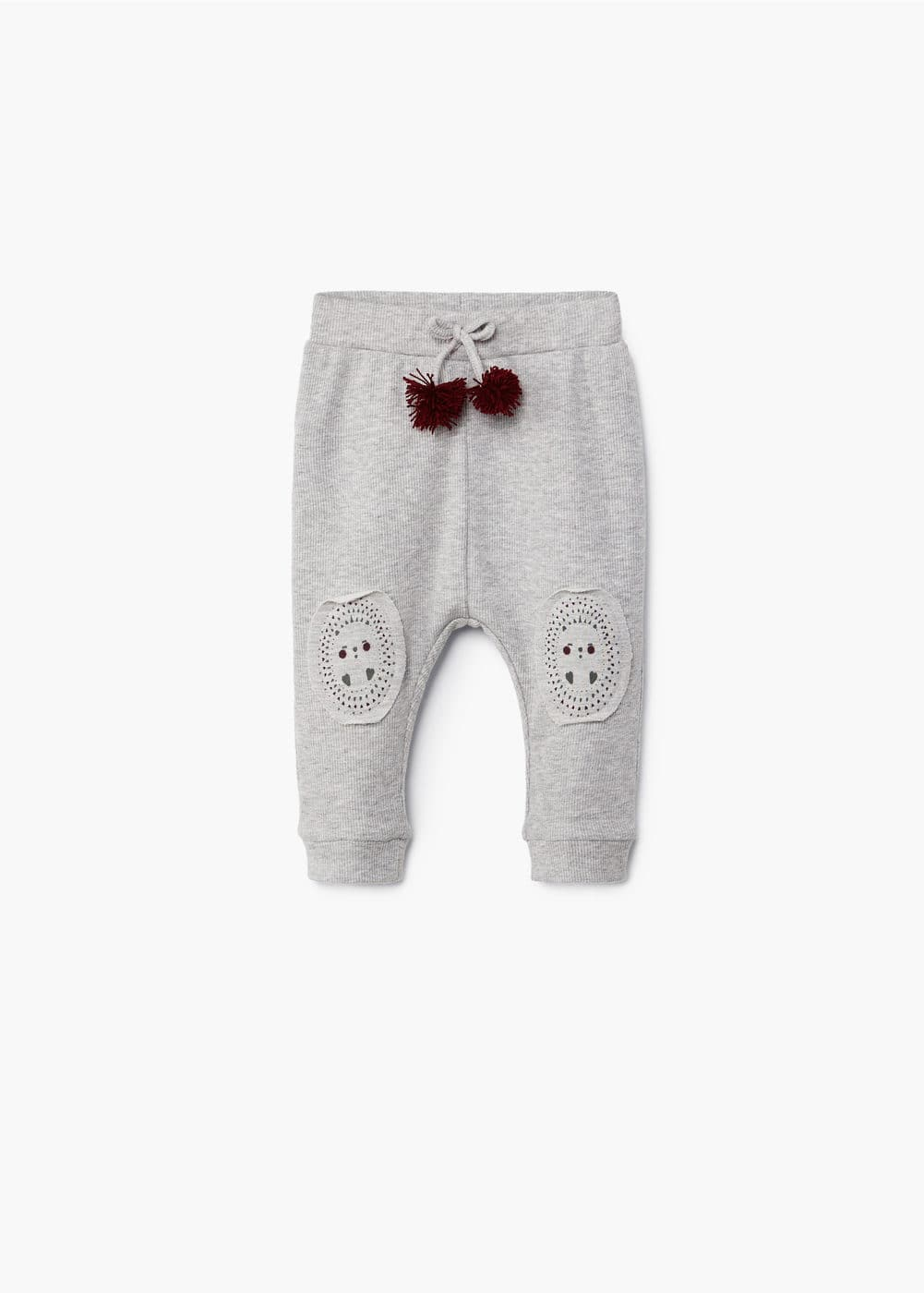 Pompon baggy trousers | MANGO KIDS