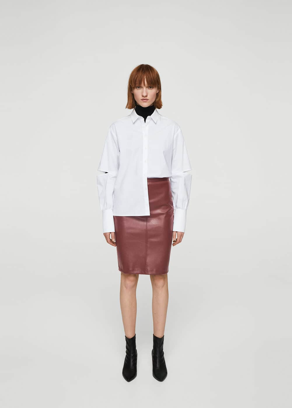 Opening pencil skirt | MANGO
