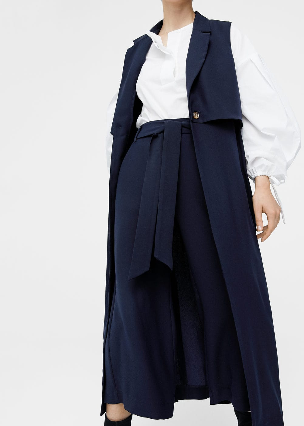 Double-layer overcoat | MANGO