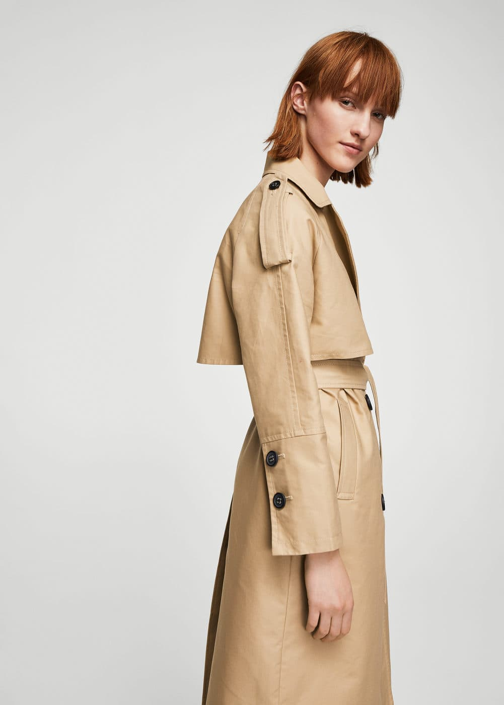 Trench doble botonada | MANGO