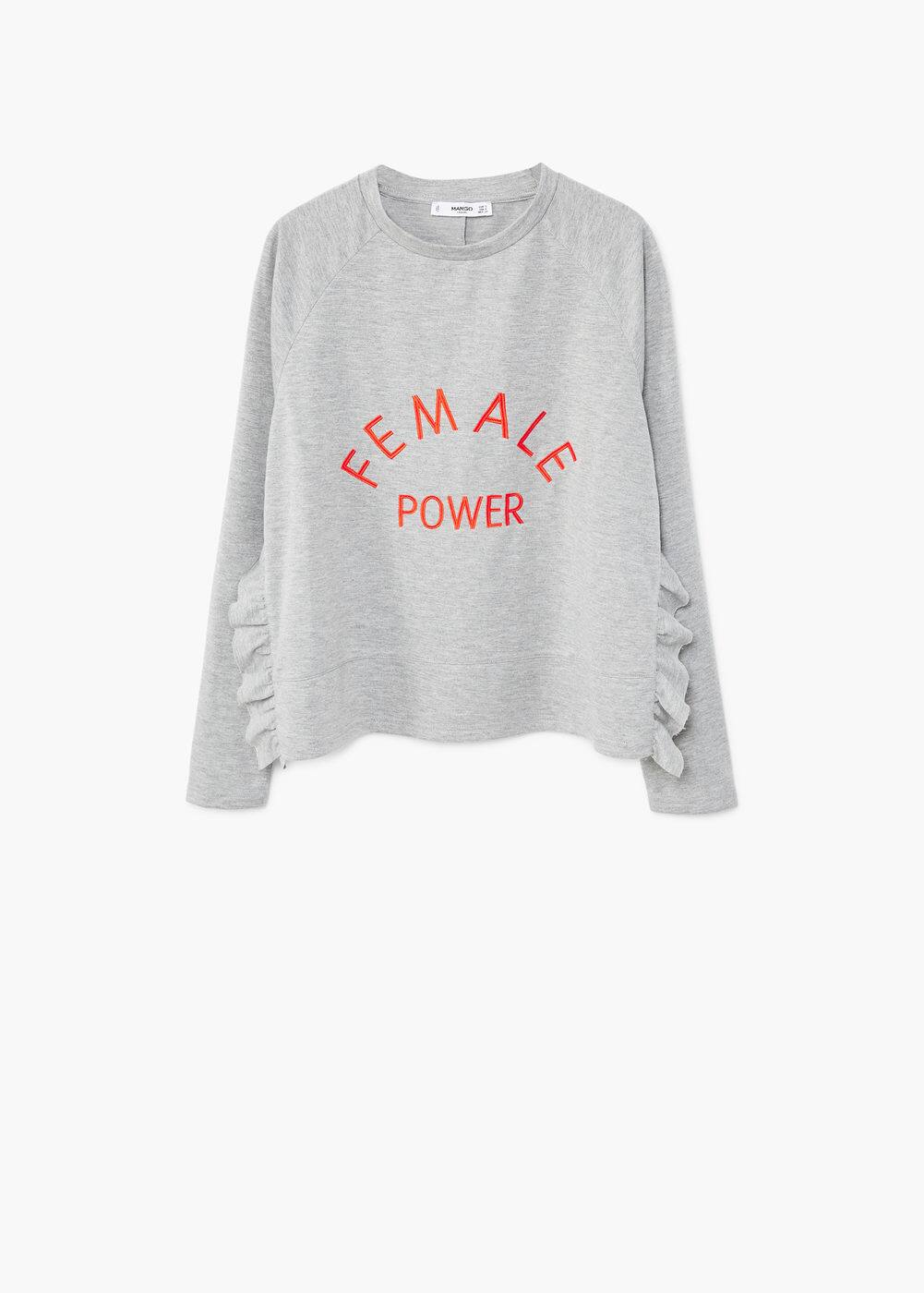 Sudadera female power | MANGO