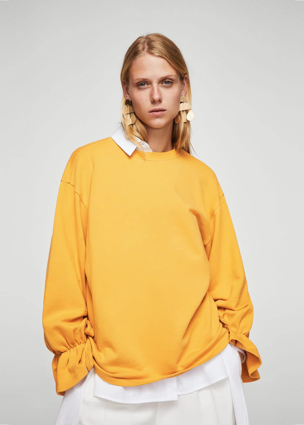 Bow cotton sweater | MANGO