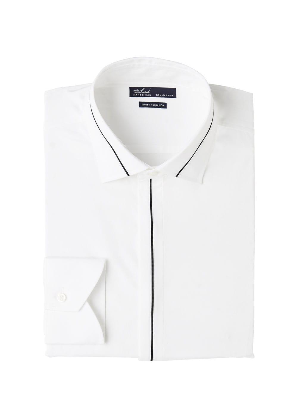 Chemise tailored slim-fit coton stretch