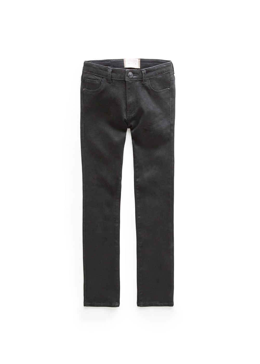 Coated black jeans | MANGO KIDS