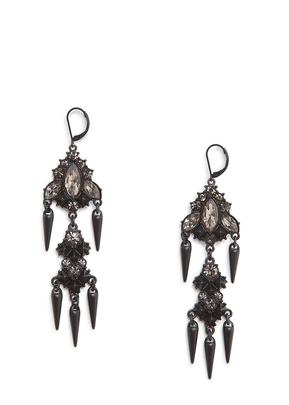 Chandelier earrings | MANGO