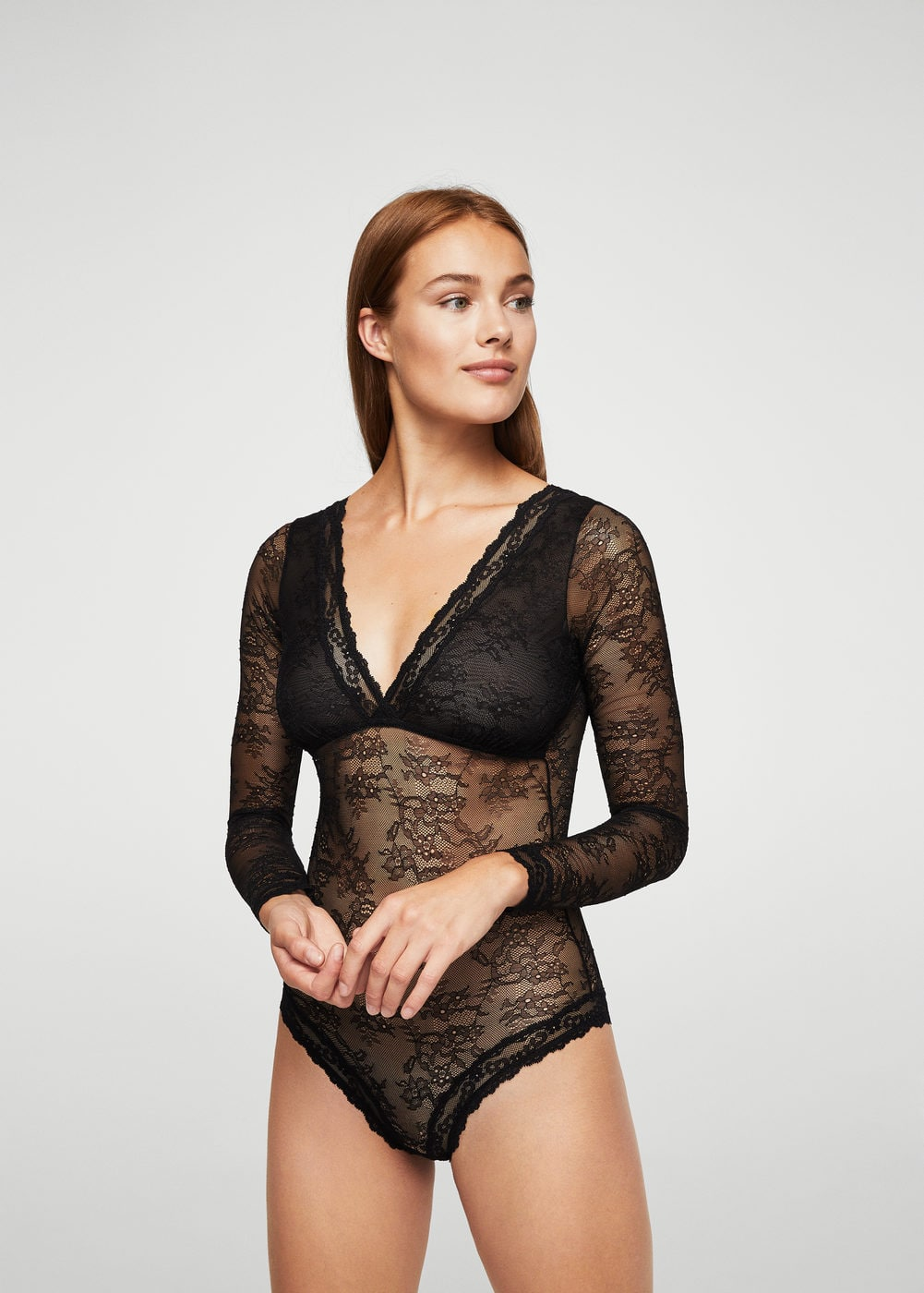 Lace body | MANGO