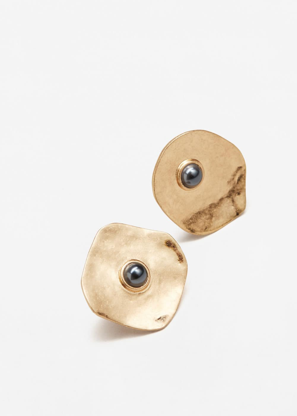 Metal earrings | MANGO