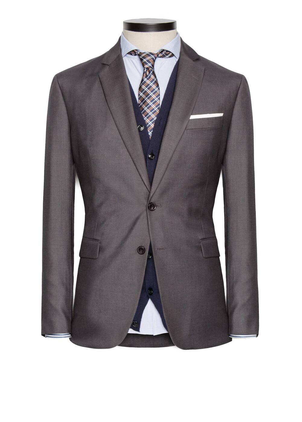 Straight-fit suit blazer | MANGO MAN