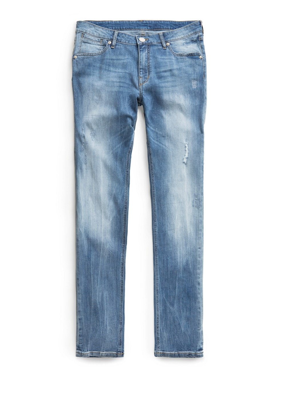 Slim-fit vintage wash alex jeans | MANGO MAN