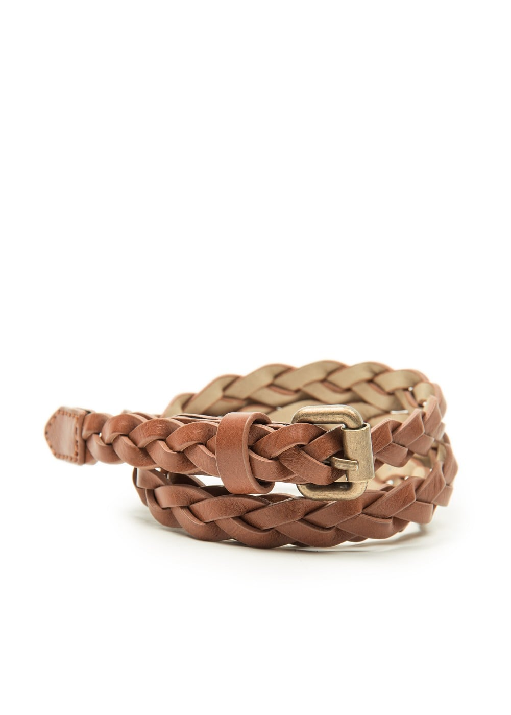 Braided slim belt | MANGO KIDS