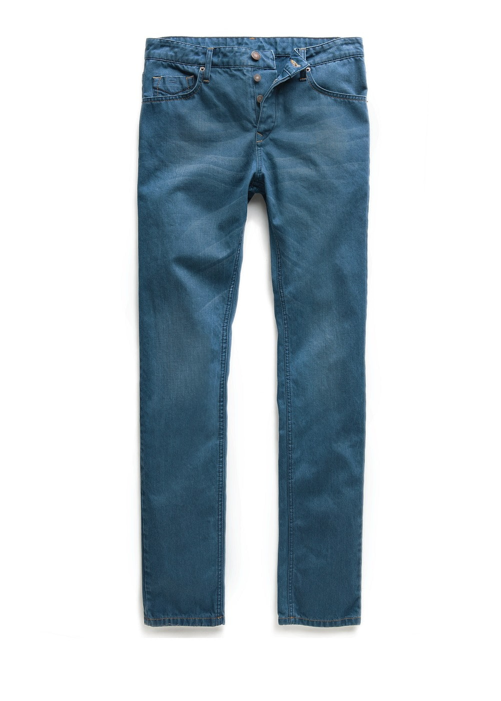 Slim-fit blue steve jeans | MANGO