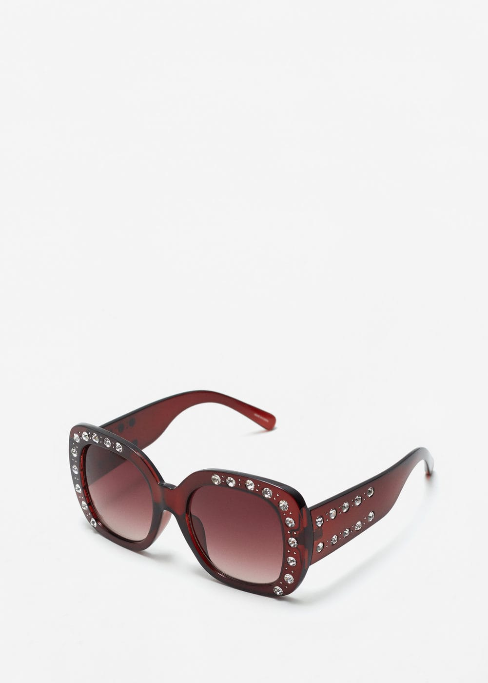 Faceted crystals sunglasses | MANGO
