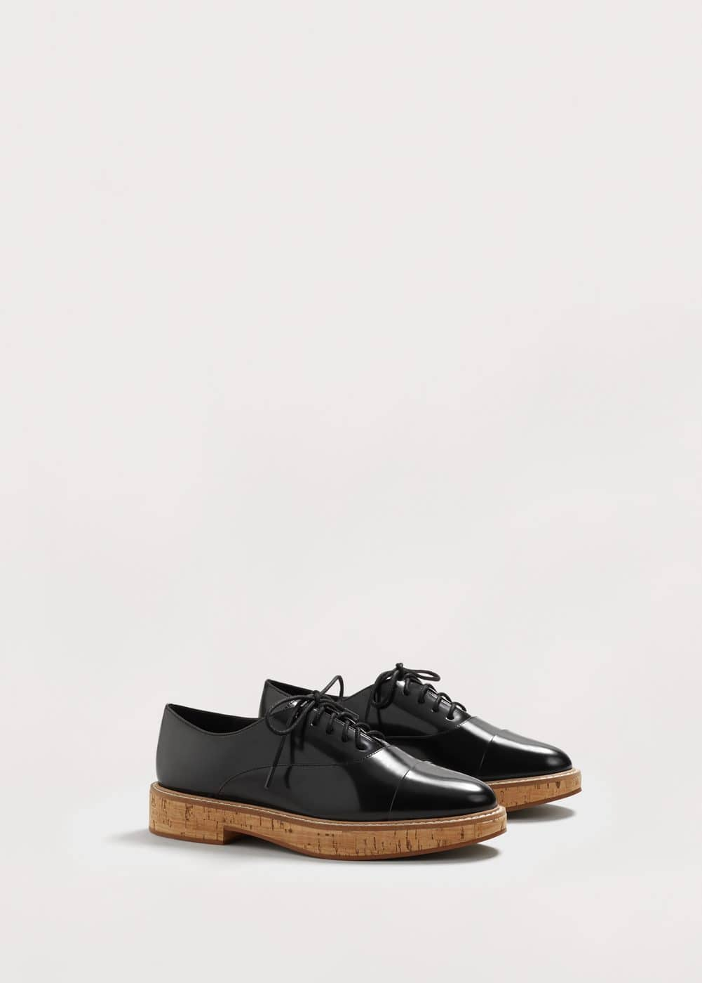 Lace-up oxford shoes | VIOLETA BY MANGO
