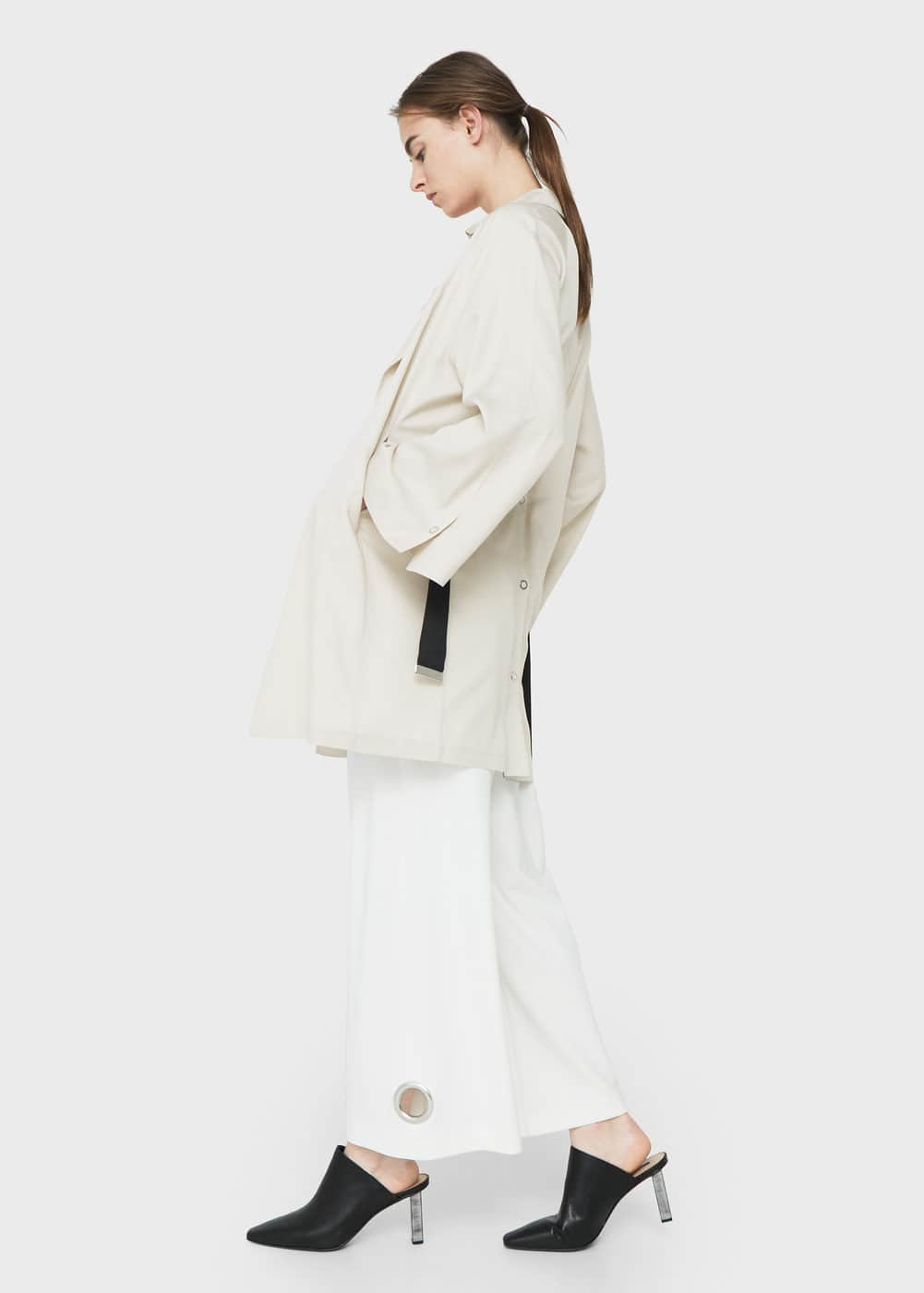 Belt flowy trench | MANGO