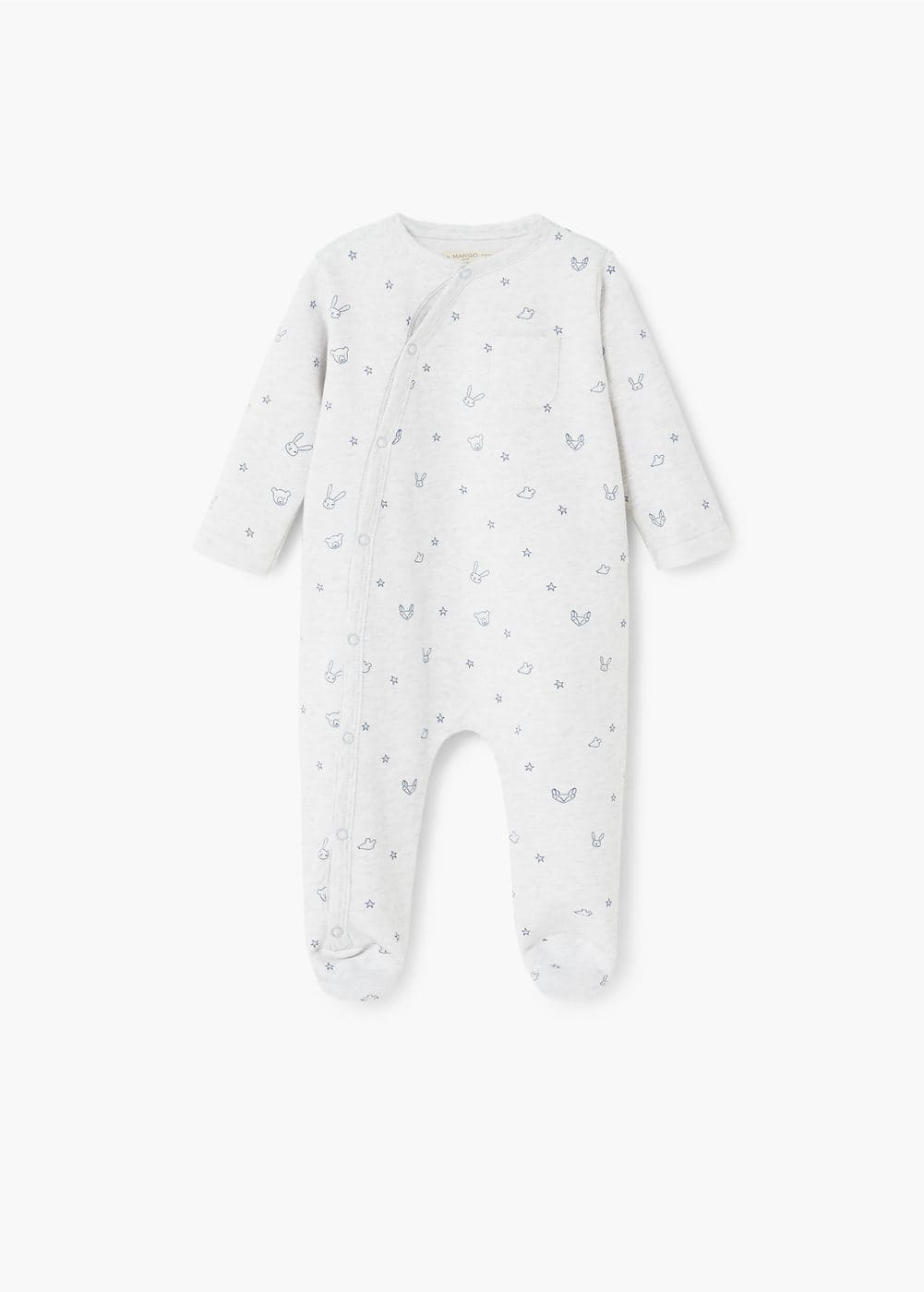 Organic cotton pyjamas | MANGO