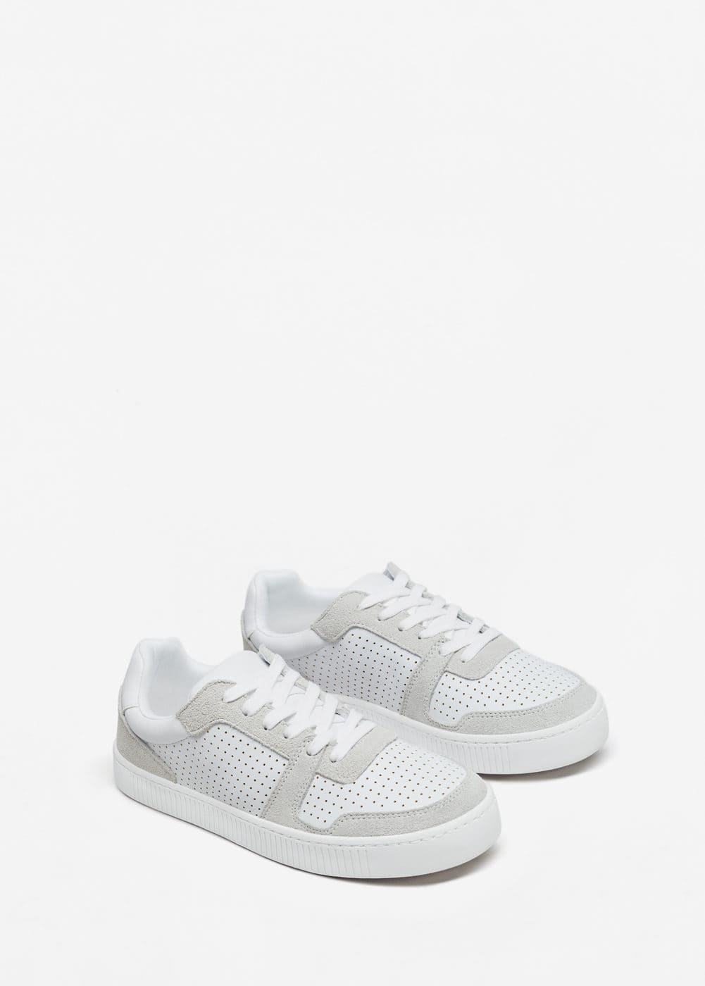 Combined design sneakers | MANGO