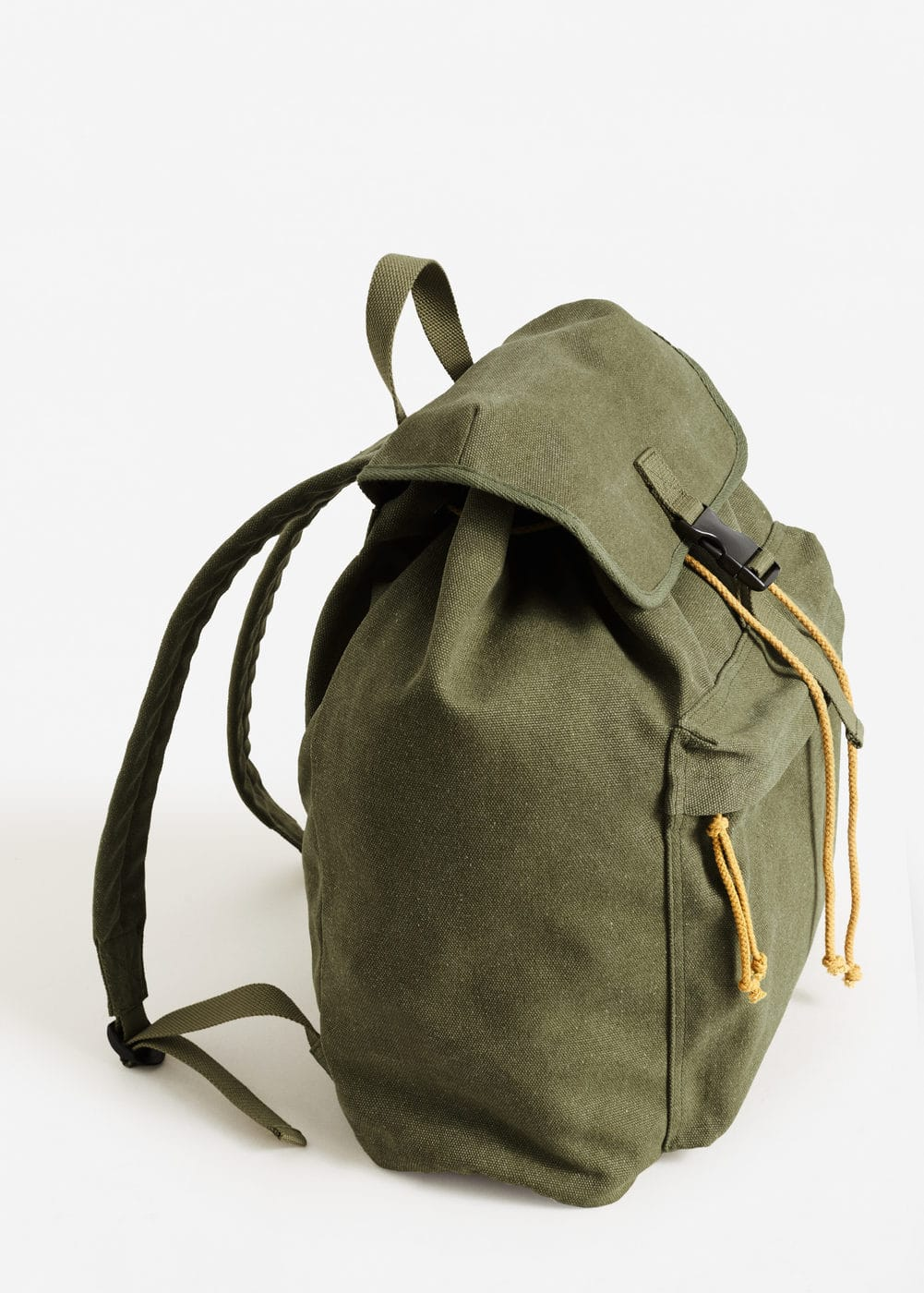 Cotton-canvas bag | MANGO MAN