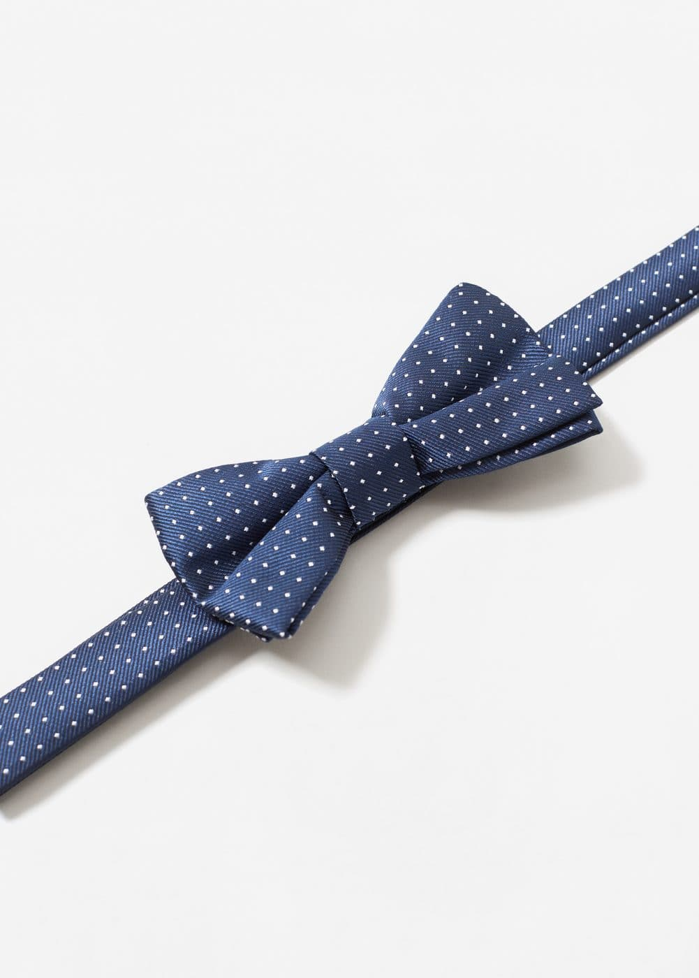 Polka-dot patterned bow tie | MANGO