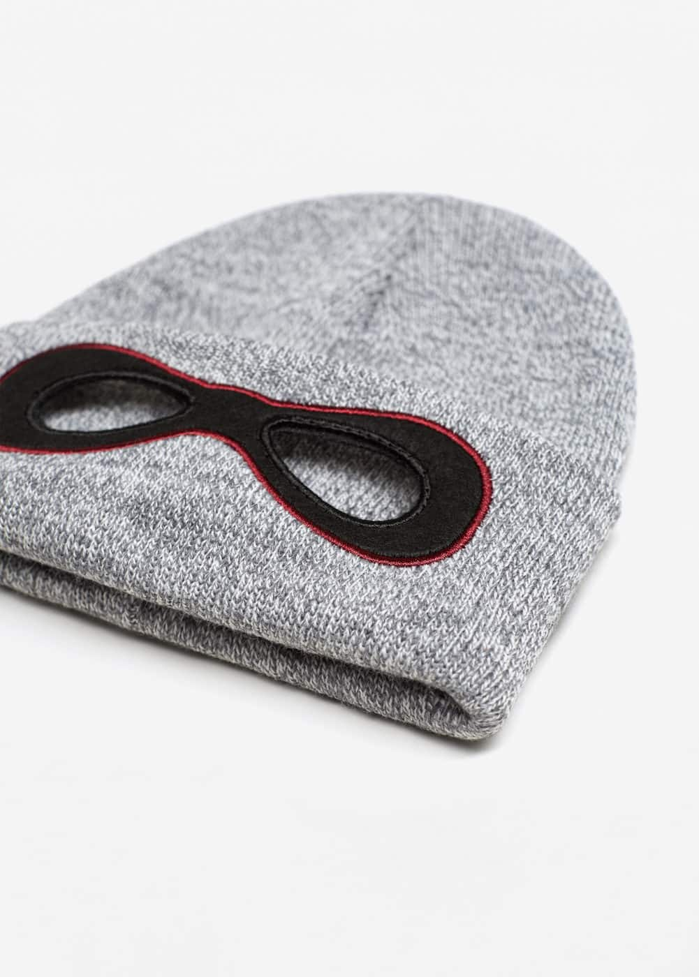 Flecked mask hat | MANGO