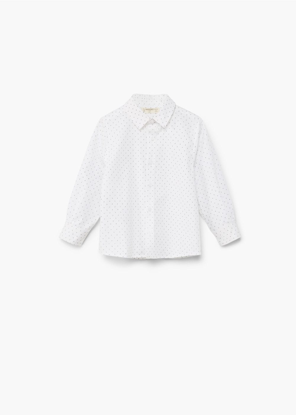 Cotton shirt | MANGO