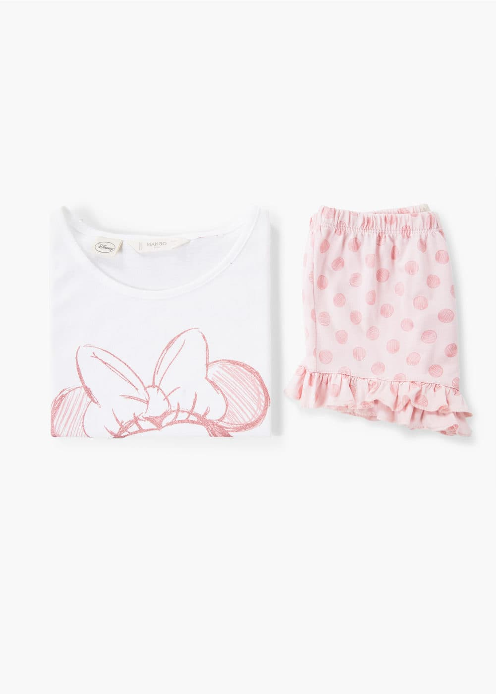 Pijama curto minnie mouse | MANGO