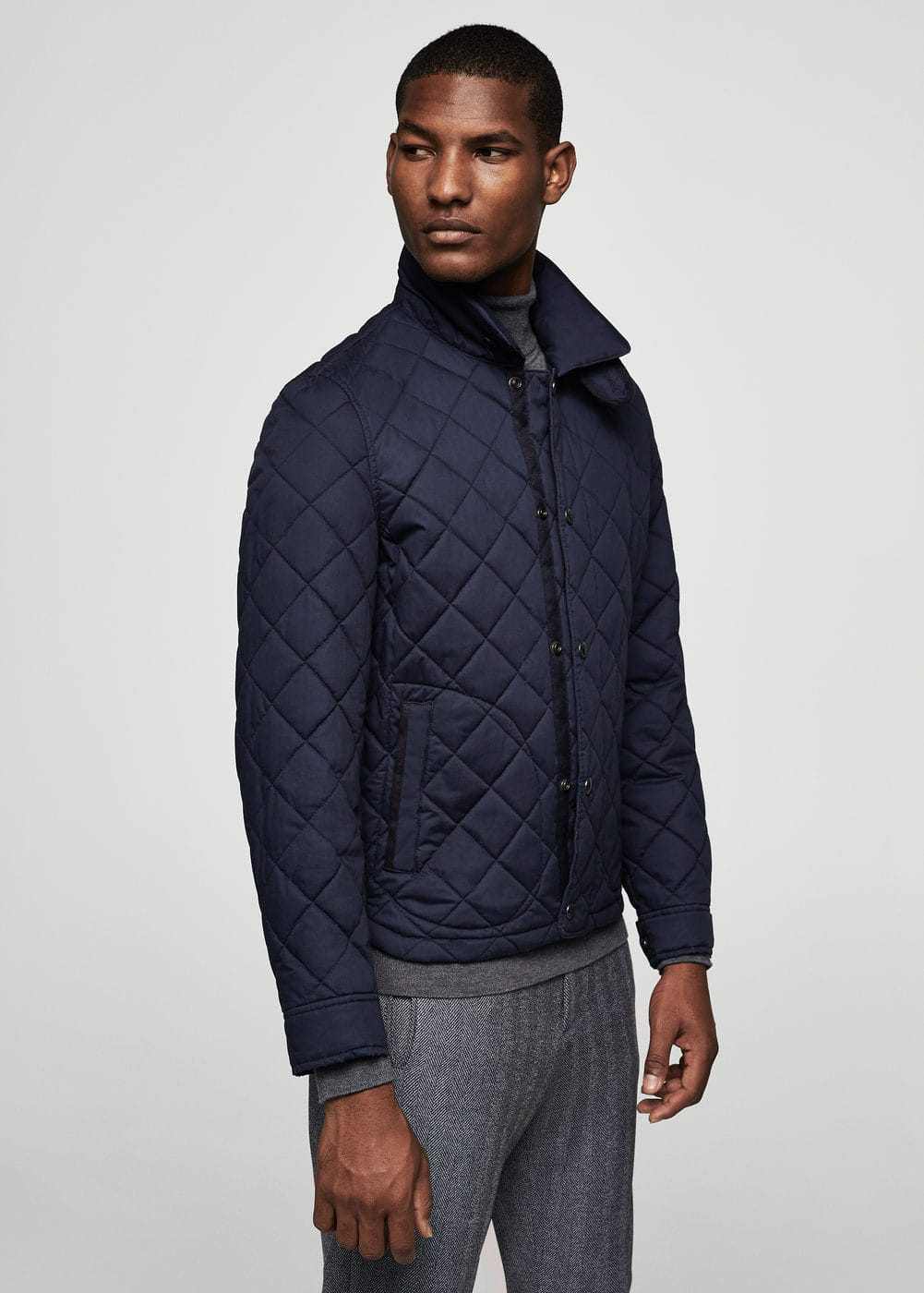 Pocket quilted jacket | MANGO