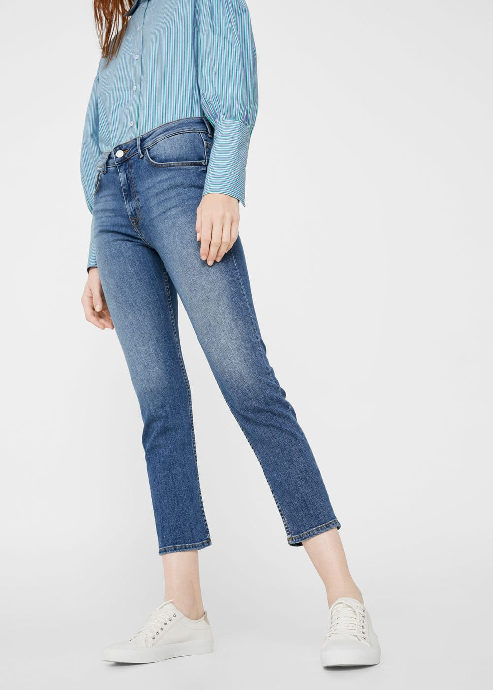 Relaxed girlfriend jeans | MANGO
