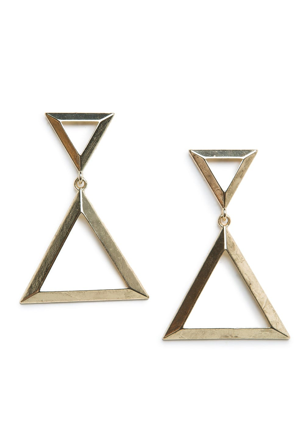 Triangle earrings | MANGO