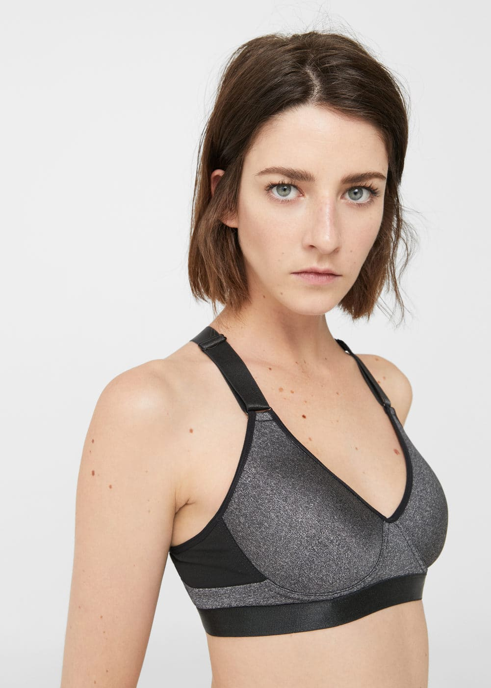 High impact bra | MANGO