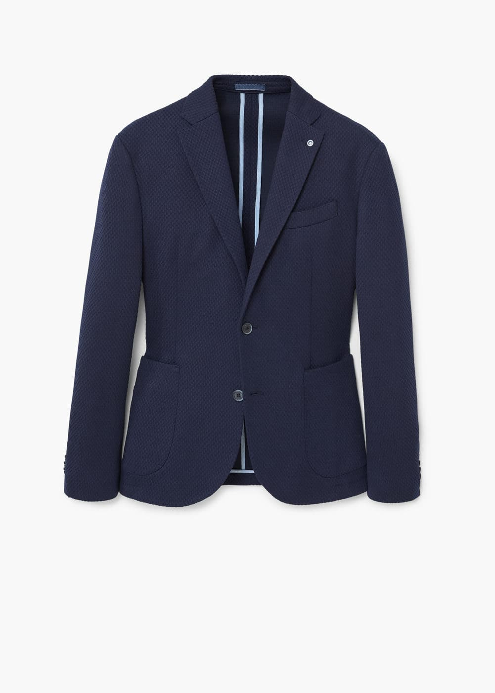 Slim-fit unstructured blazer | MANGO MAN