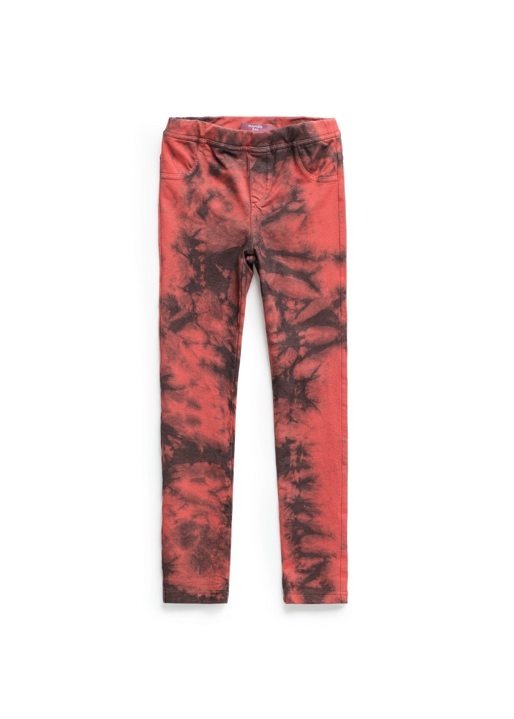 Jeggings mit batikmuster | MANGO KIDS