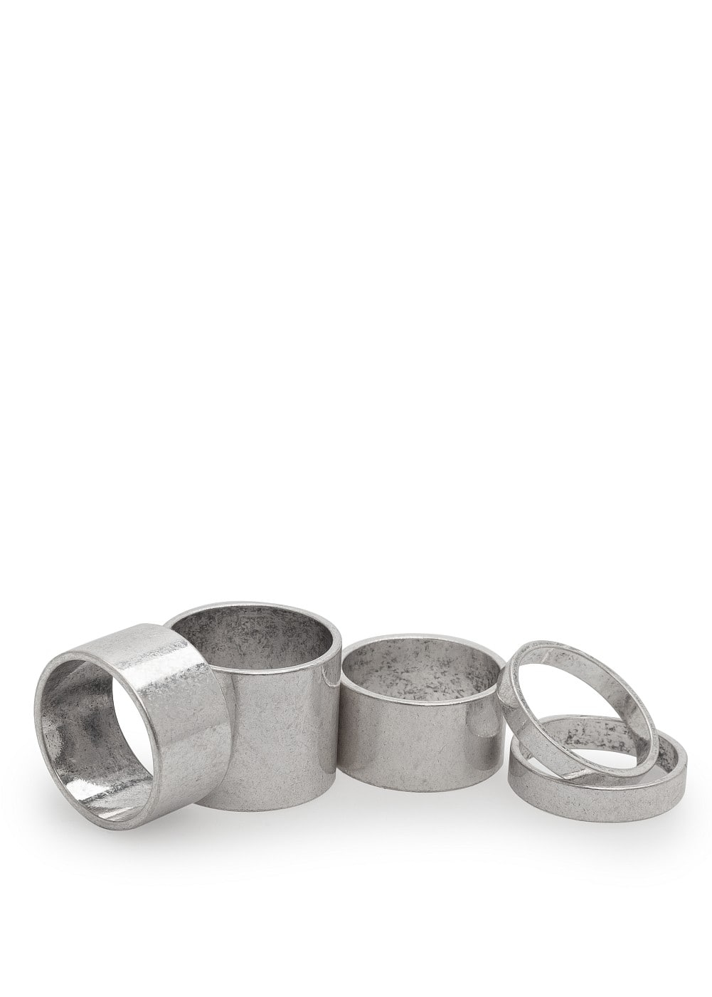 Metallring-set | MANGO