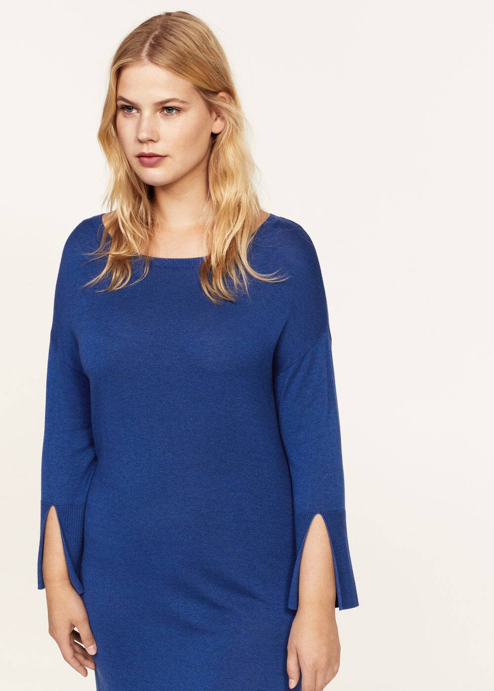 Wool-blend ponte dress | VIOLETA BY MANGO