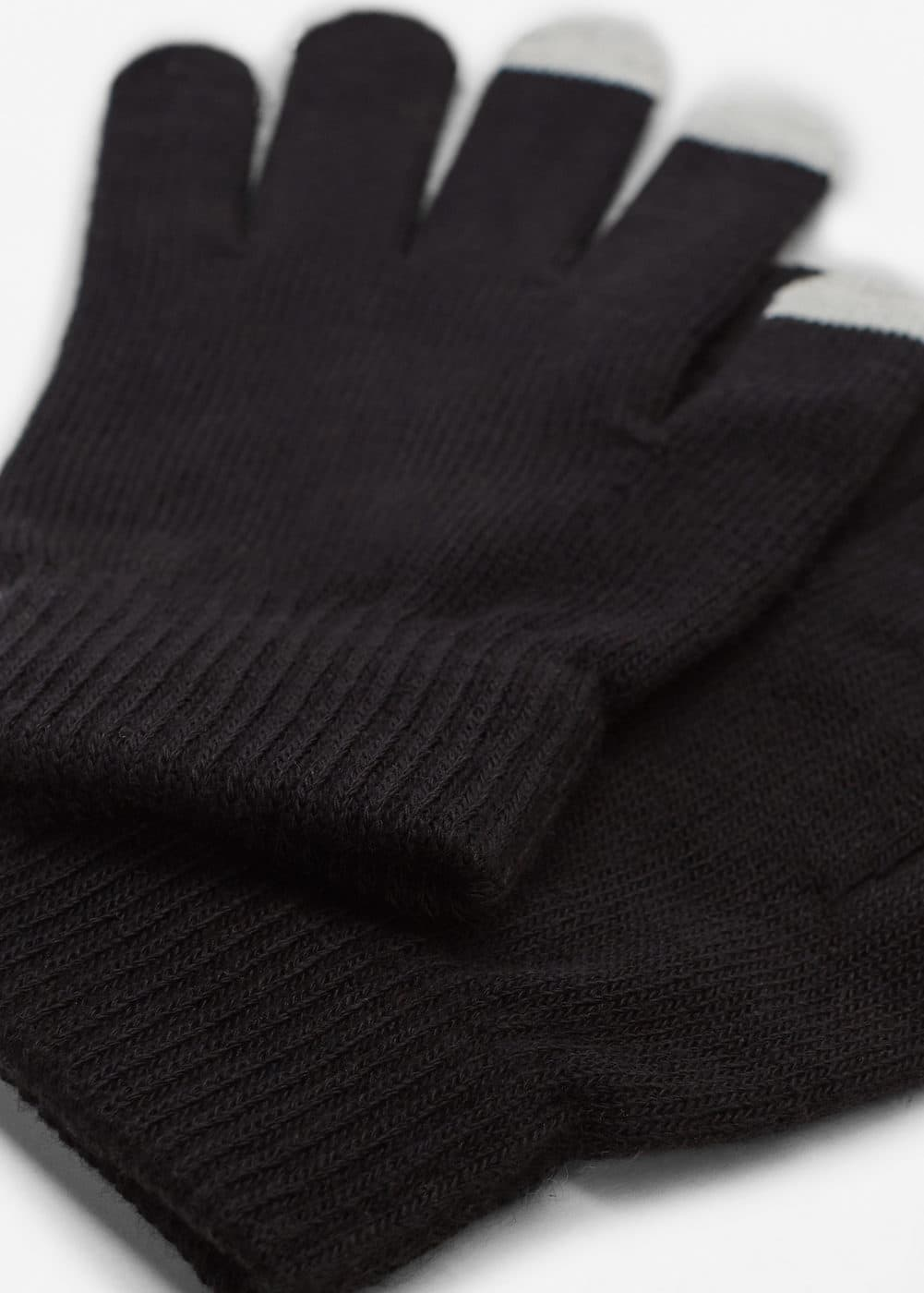 Guantes panel contraste | MNG
