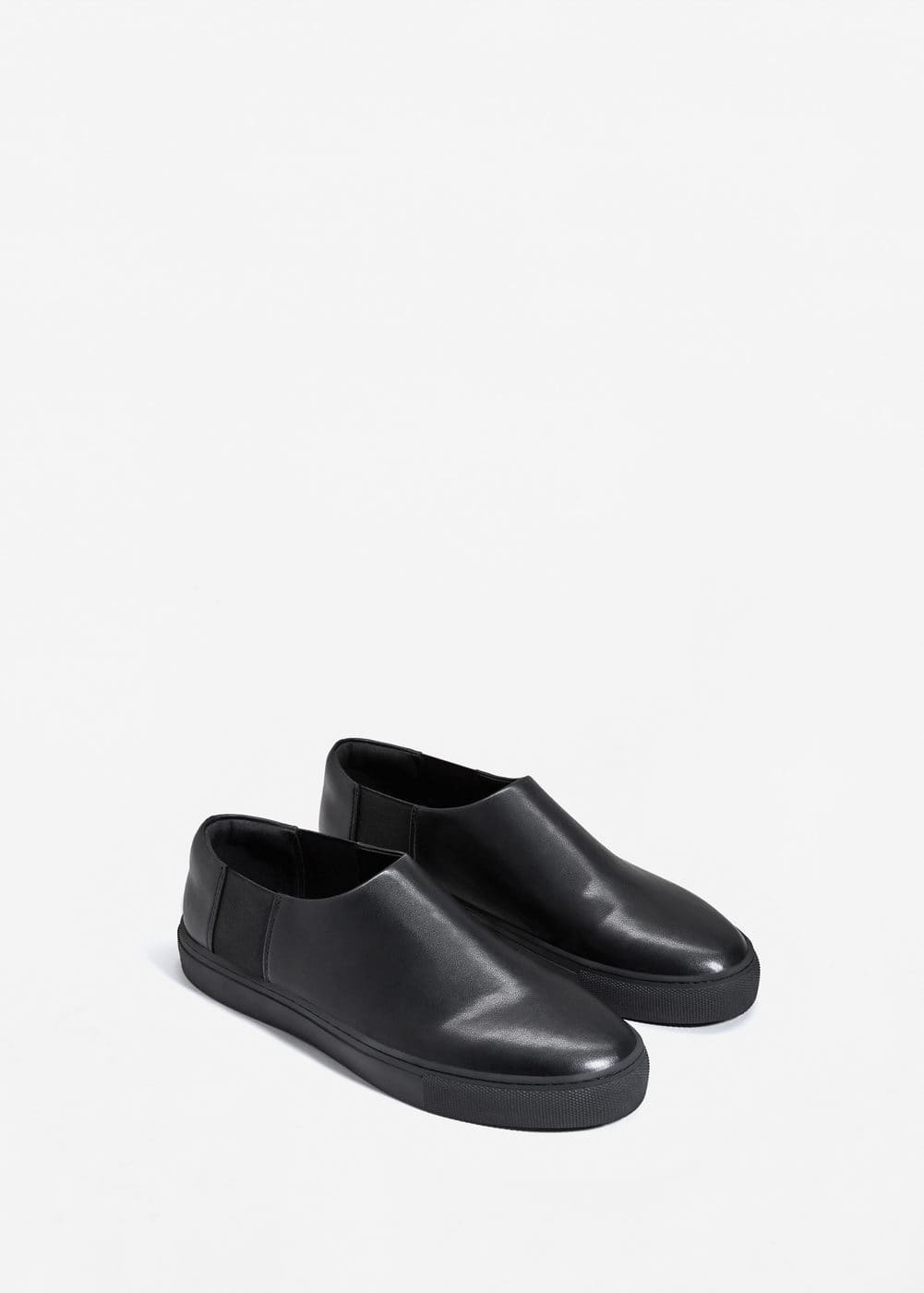 Elastic panels slip-on | MANGO MAN