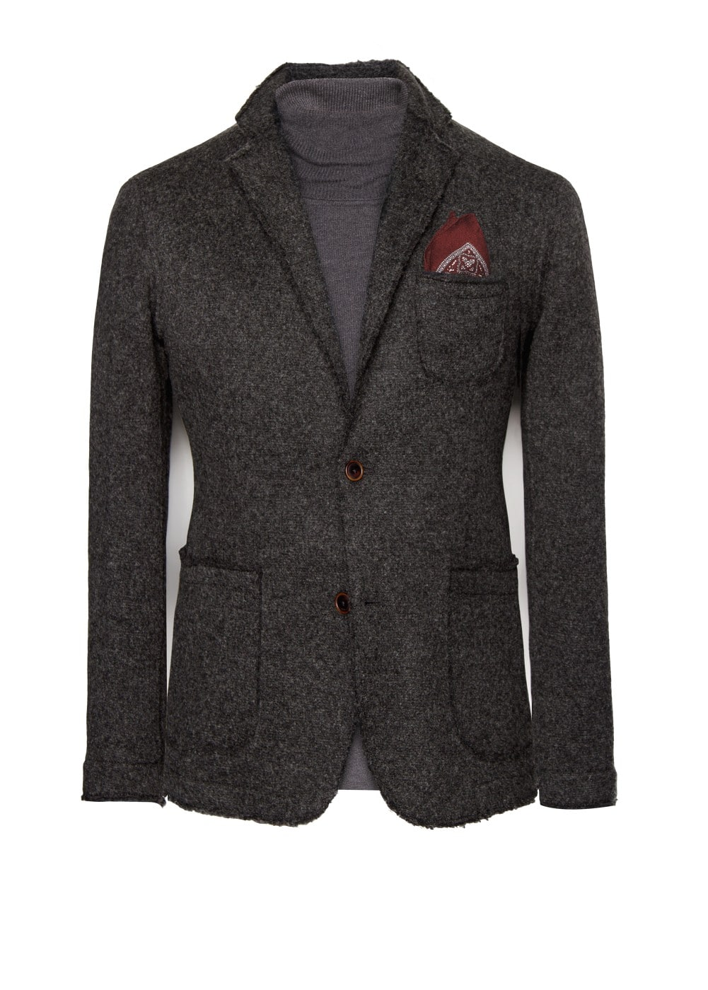Wool-blend unstructured blazer | MANGO